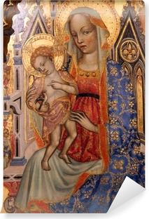 Papier peint vinyle Vierge à l'Enfant