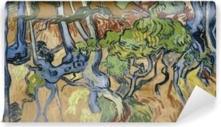 Papier peint vinyle Vincent van Gogh - Racines d'arbre