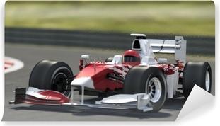 Papier peint vinyle Voiture de course Formule Un.