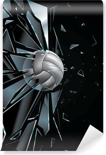 Papier peint vinyle Volleyball Ball Set 5