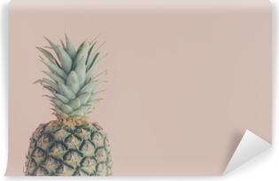 Papier peint vinyle Vue d'art d'ananas frais