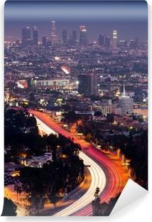 Papier peint vinyle Vue Sur LA
