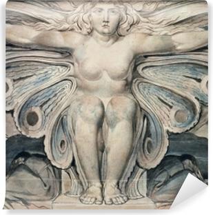 Papier peint vinyle William Blake - Personnification du tombe