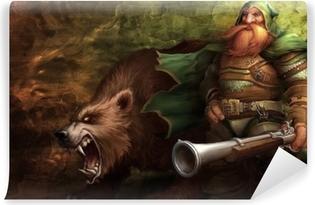 Papier peint vinyle World of Warcraft