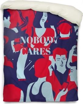 Påslakan Nobody cares