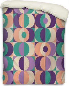 Påslakan Seamless tappning geometriskt mönster