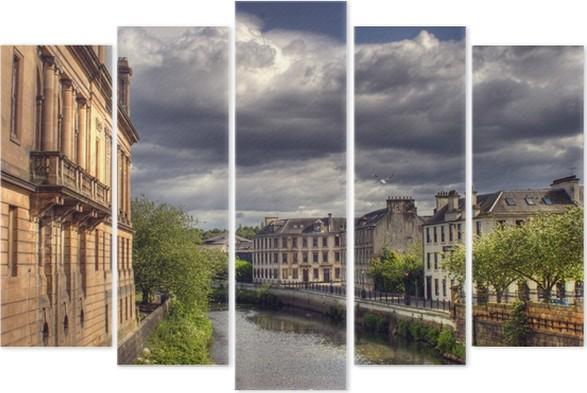 Pentáptico Glasgow • Pixers® - Vivimos para cambiar