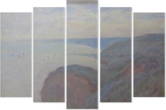 Claude Monet - Steef Cliffs near Dieppe Pentaptych