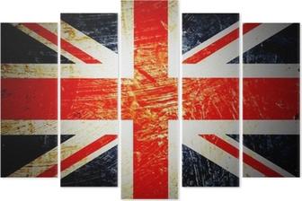 drapeau anglais Pentaptych