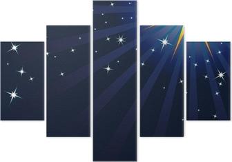 Weihnachtsgrüße Teenager.Hintergrund Vorlage Glitzern Lichteffekt Effekt Lichtzauber