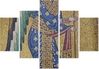 Pentaptych Palerno - Mozaika archanděla Michaela v La Martorana