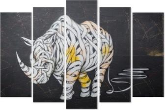 Pentaptyk Tag nosorożca