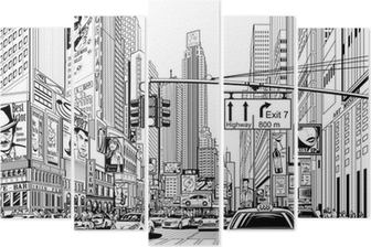 Pentaptyque Rue à New York