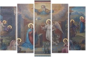 Pentaptyque Vienne - Annonciation Carmes frais église