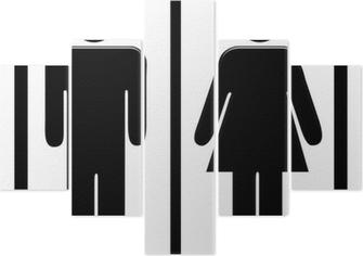 Cartello Per Bagno Signore : Cartello bagno donne da stampare: cartelli toilette da stampare
