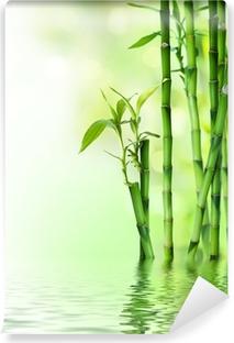 Bambu varret veteen Pesunkestävä Valokuvatapetti