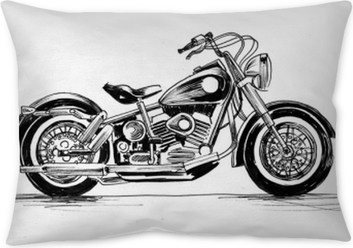 American motorcycle Pillow Cover