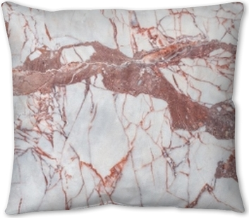 Marble texture background for design with copy space for text or image. Marble motifs that occurs natural. Pillow Cover