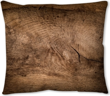 Rustic wood background, wood texture Pillow Cover