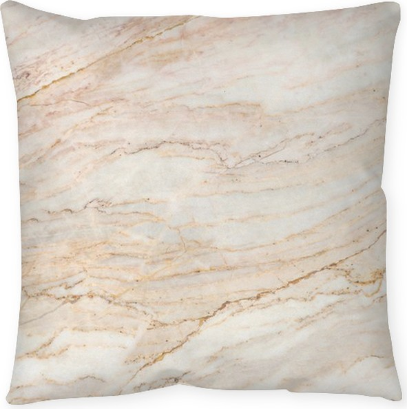 Seamless Soft Beige Marble Texture Pillow Cover