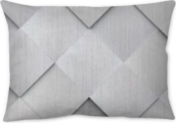 Tiled Metal Texture (Website Head) Pillow Cover