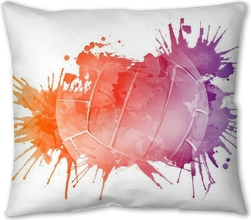 Volleyball Ball Pillow Cover