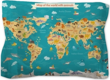 Animal map for kid. World vector poster for children, cute illustrated. on world travel, world shipping lanes, world glode, world flag, world wide web, world military, world wallpaper, world records, world statistics, world most beautiful nature, world projection, world globe, world border, world war, world hunger, world of warships, world earth, world culture, world history, world atlas,