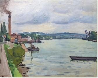 Albert Marquet - Seine (Rouen civarında) Plakat