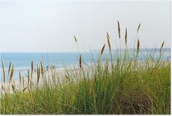 Am Meer - På stranden Plakat