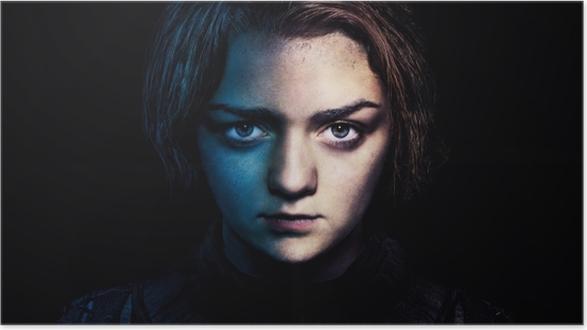 Arya Stark Plakat -