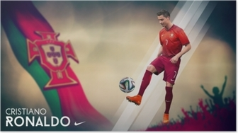 Cristiano Ronaldo Plakat