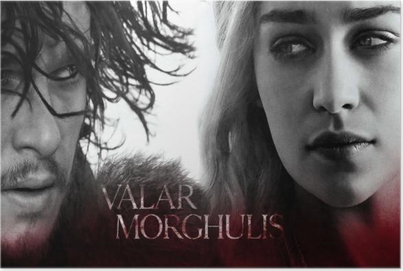 Daenerys Targaryen Plakat -