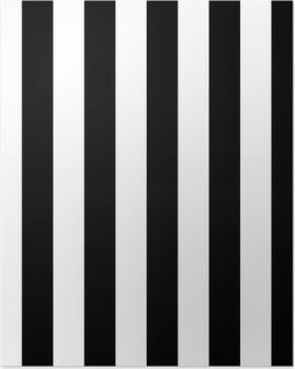 Plakat Diagonale linjer svart og hvitt mønster