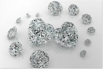 Diamanter gruppe Plakat
