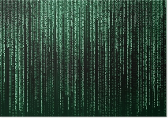 Plakat Digital abstrakt bakgrunn