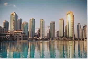 Dubaï ville Plakat