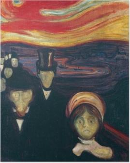 Plakat Edvard Munch - Angst
