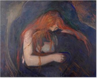 Edvard Munch - Vampire Plakat