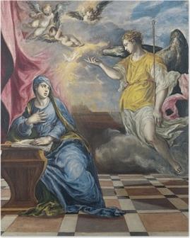 Plakat El Greco - Bebudelsen