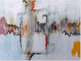 Et abstrakt maleri Plakat