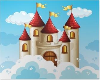 Et eventyr slot på himlen Plakat