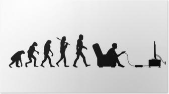 Plakat Evolusjon Gamer