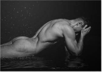 Fitness model Plakat