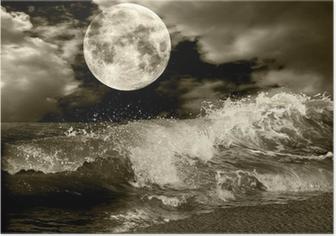 Fuldmåne Plakat