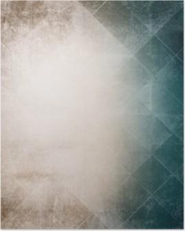 Plakat Grunge bakgrunn