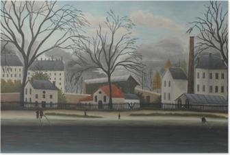 Henri Rousseau - Suburban Scene Plakat