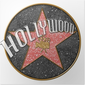 Hollywood Star Plakat