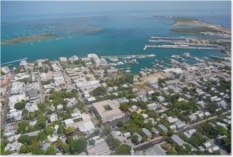 Plakat Key West Aerial View