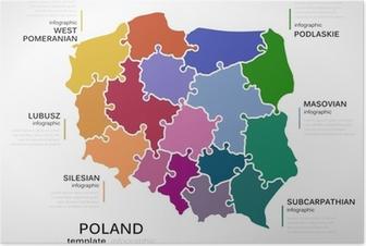Kort Over Tyskland Plakat Pixers Vi Lever For Forandringer