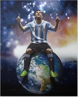 Leo Messi Plakat